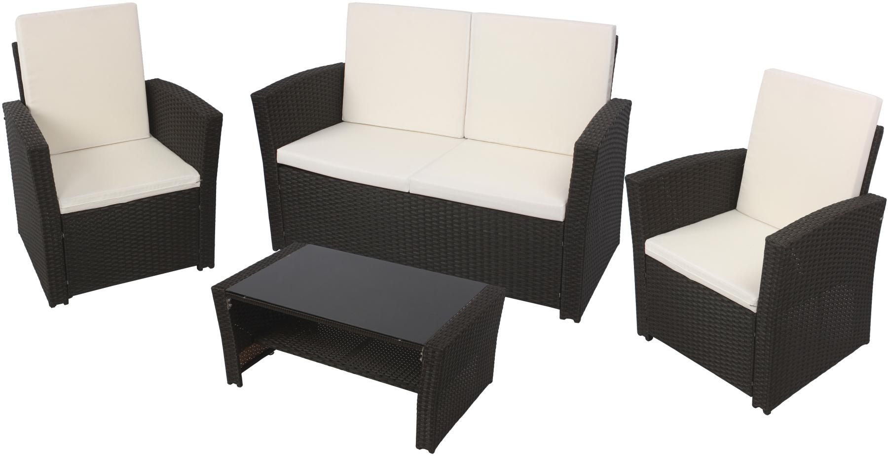 Rattan sitzgruppe lounge sessel sofa sitzgarnitur gartenmöbel